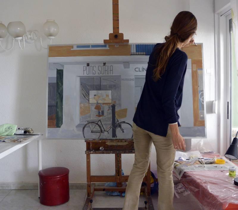 Pons Soria y Benlliure presentan a la artista Virginia Kelle