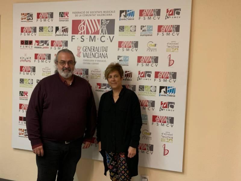 Pedro Rodríguez y Mª Dolores Tomás