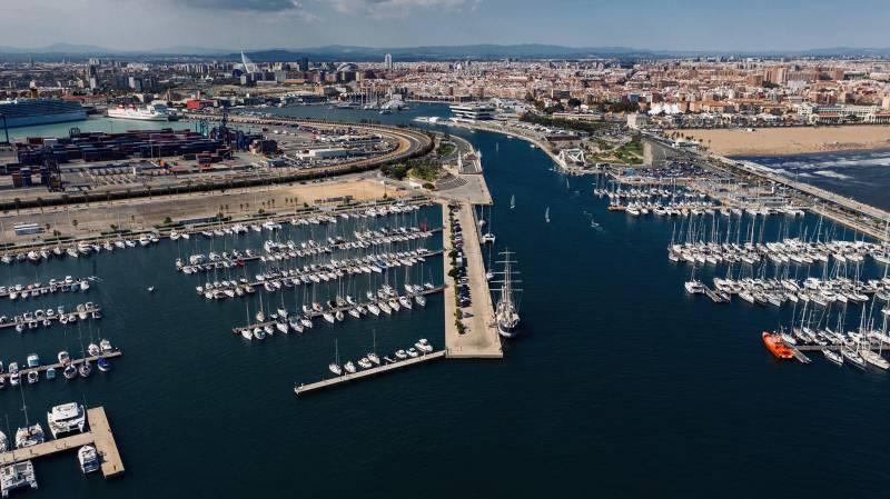 Amarres La Marina de Valencia