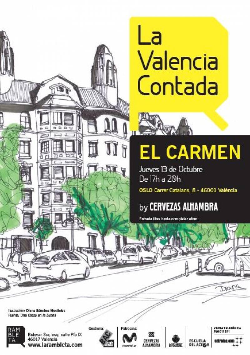 Cartel de La Valencia Contada