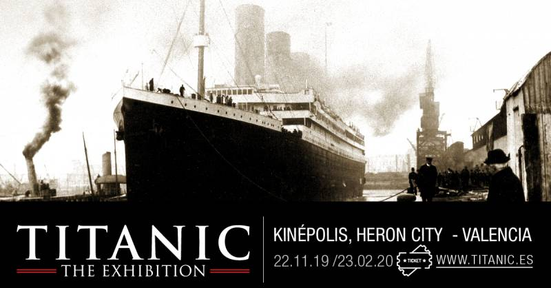 Cartel exposición Titanic