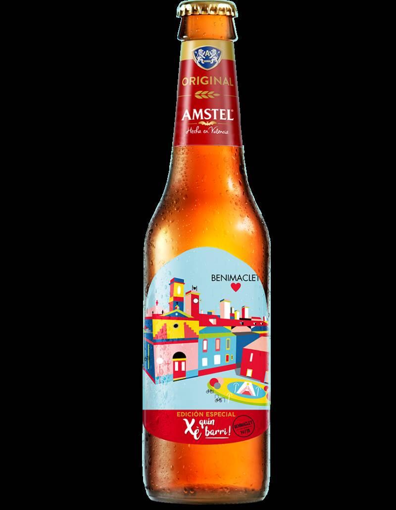 Amstel, Xe quin barri, botellas Benimaclet