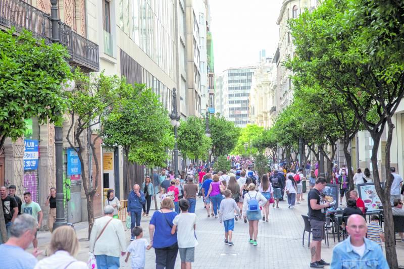 Calle peatonal de València
