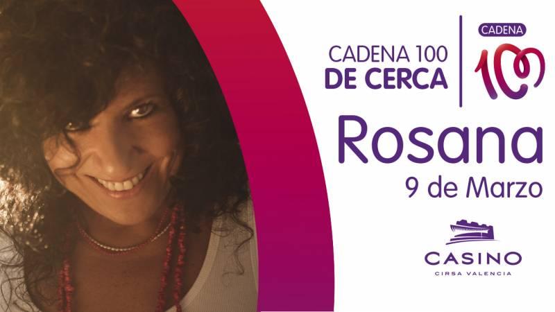 Rosana en Casino Cirsa Valencia