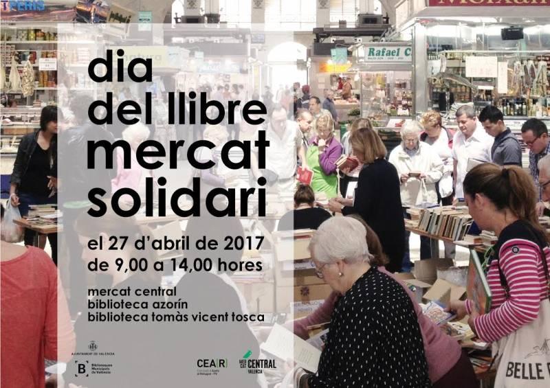 Día del libro, mercados solidarios