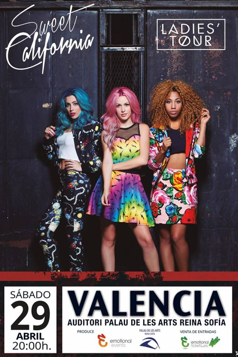 Póster de Sweet California