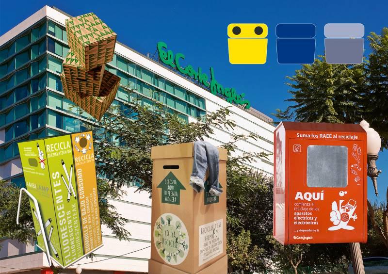El Corte Inglés propicia el reciclaje de más de 20.500 Tm de aparatos eléctricos y electrónicos