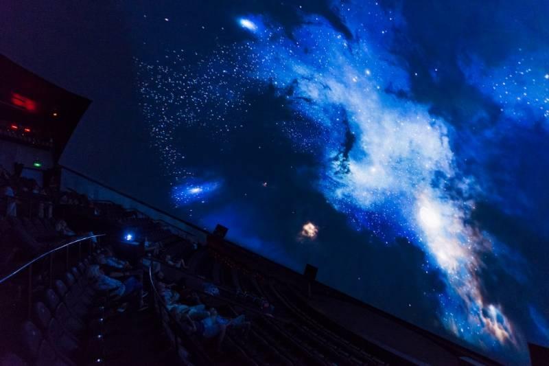 Fotografía del Planetari. EPDA.