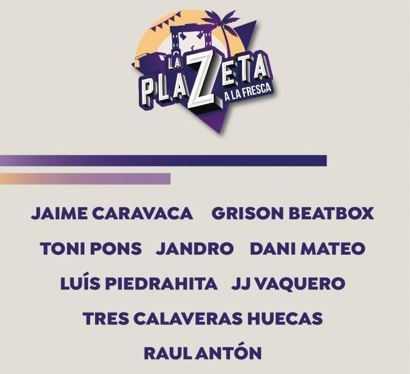 Cartel La Plazeta. EPDA