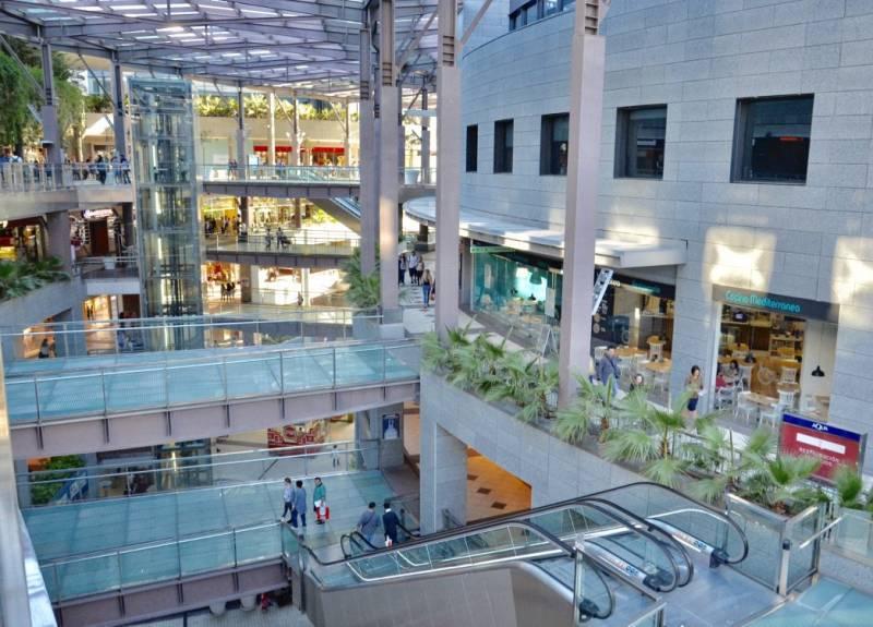 Imagen de archivo centro comercial./ EPDA