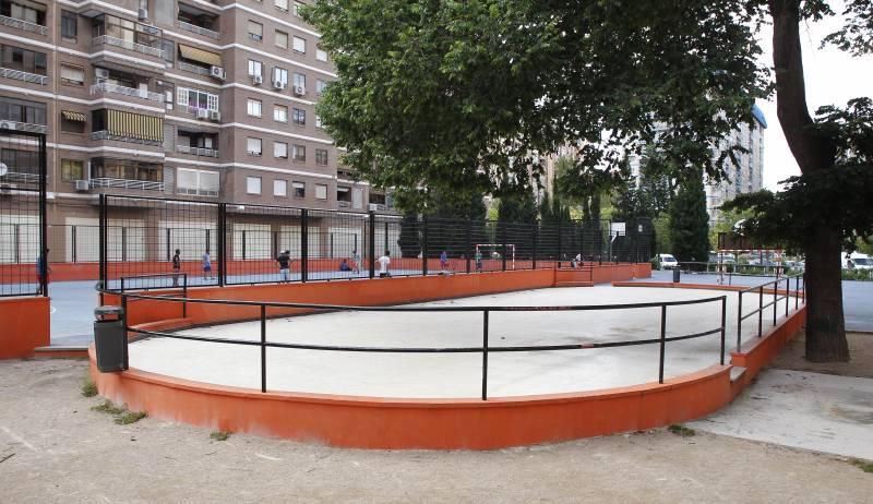 Instal·lació esportiva Ciutat Jardí