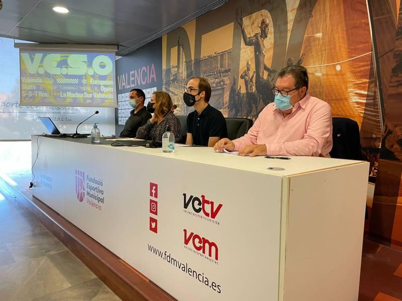Presentación del Valencia European Skate Open.