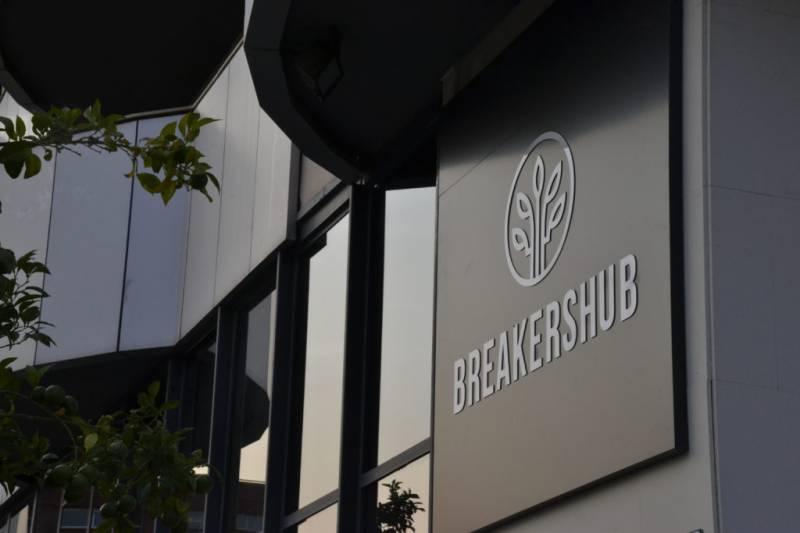 Las oficinas de Breakers Hub, en València