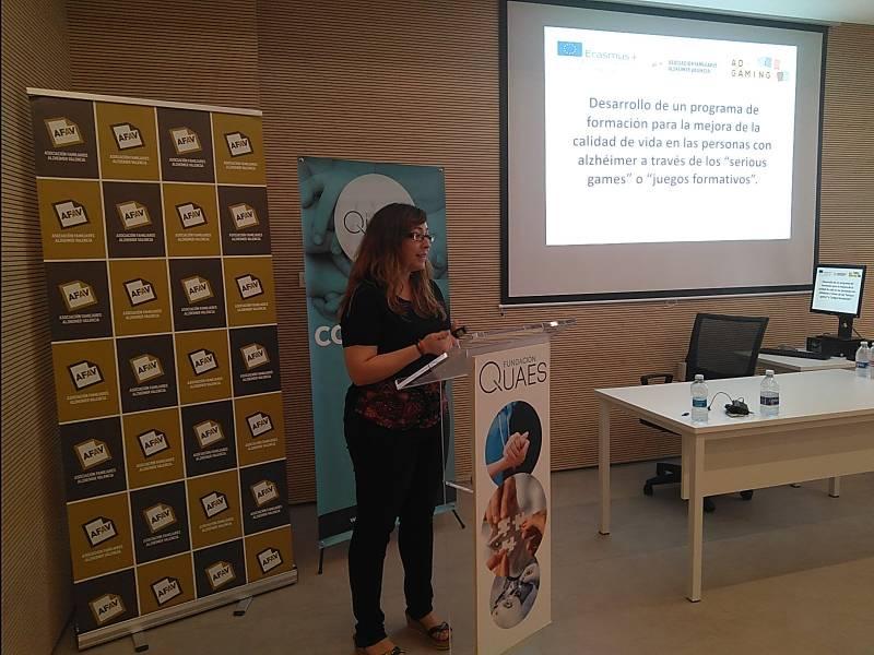 Ana María Ruiz Cano Presidenta de AFAV
