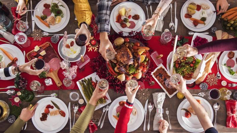 Sopar de nadal. EPDA