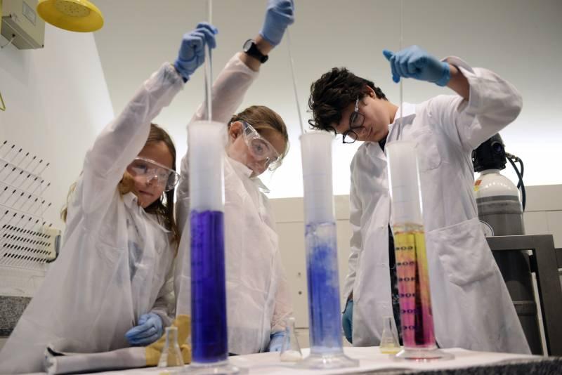 Escolares Ciencia a Escena