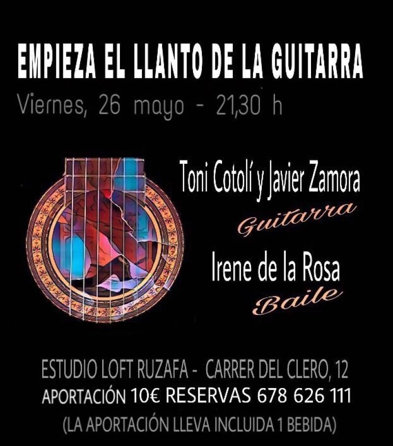 Toni Cotolí, guitarra, València