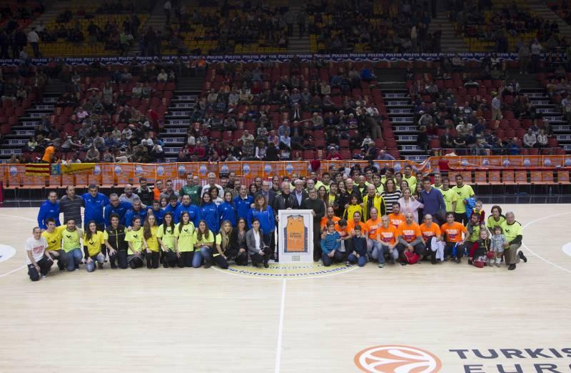 Participantes del homenje. //Viu Valencia