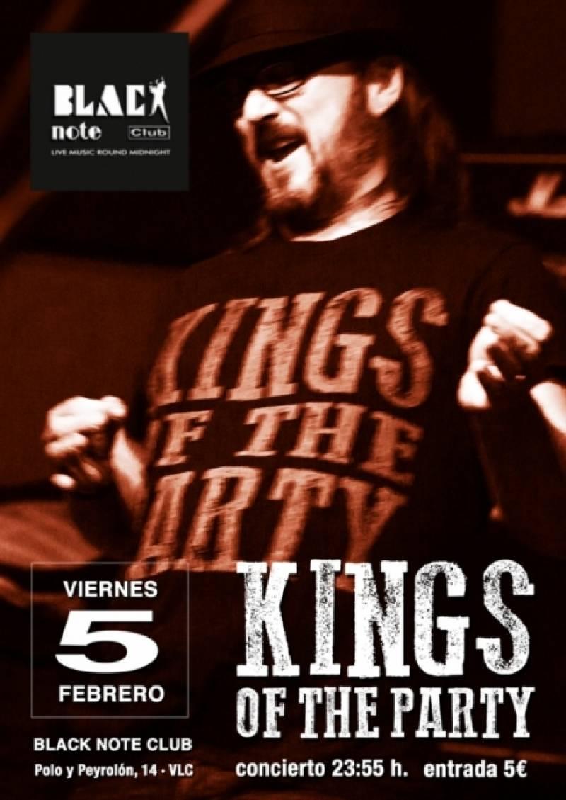 Kings of the party ofrecerá un repaso por sus mejores temas : : Blacknote