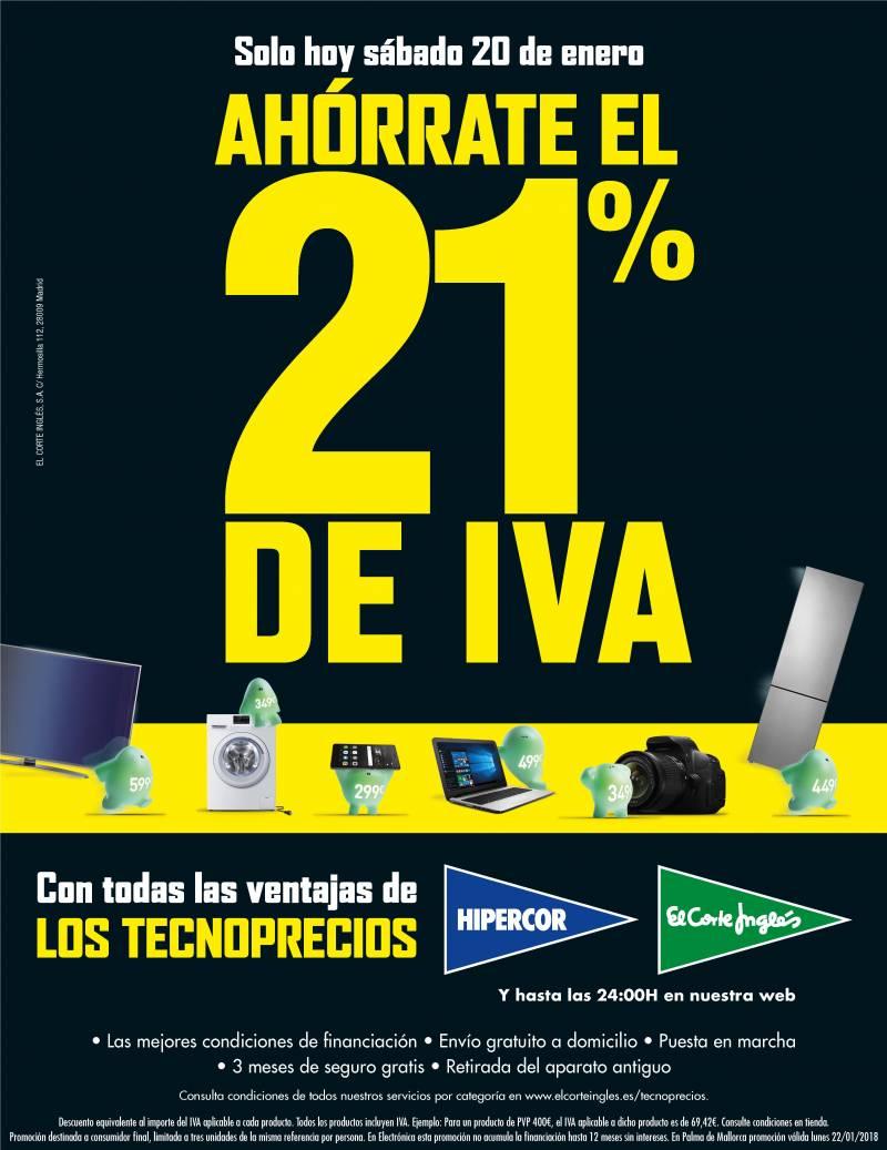 Ahórrate el 21% de IVA
