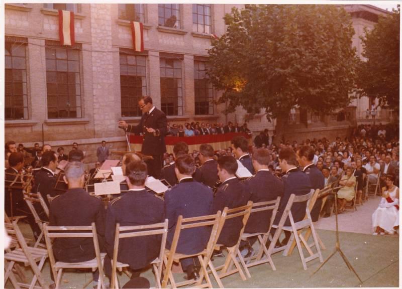 Banda participant al Festival de Llíria el 10-09-1967