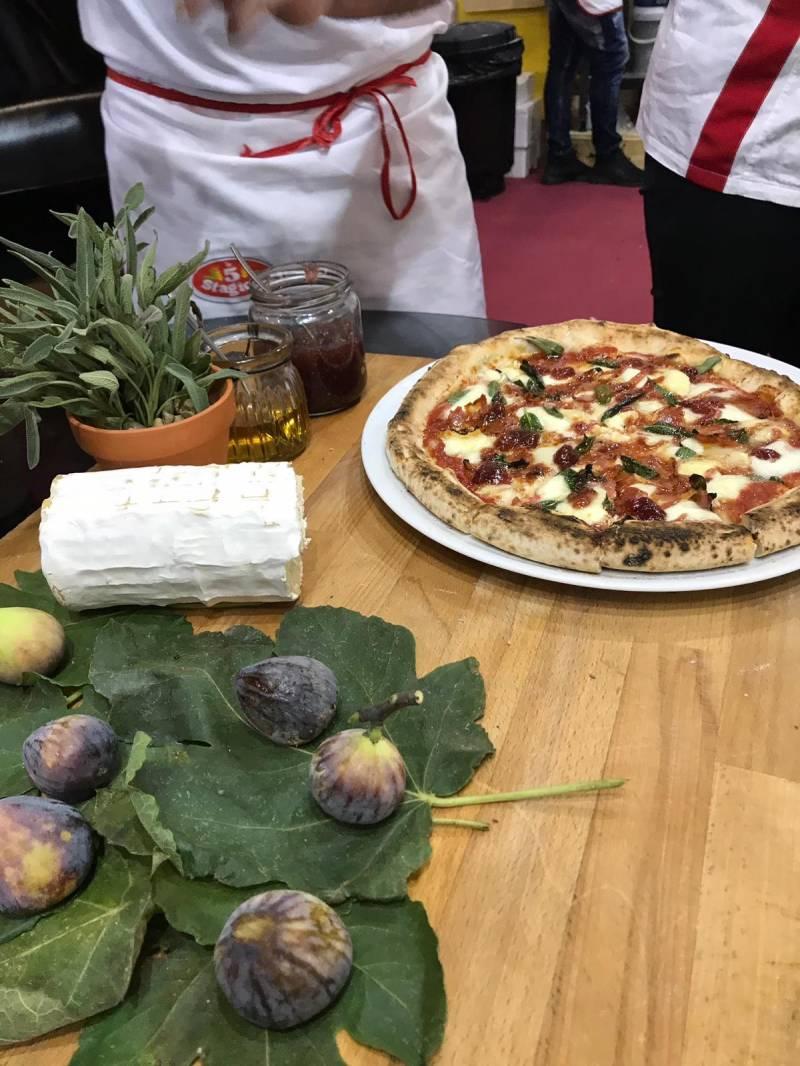 Pizza ganadora