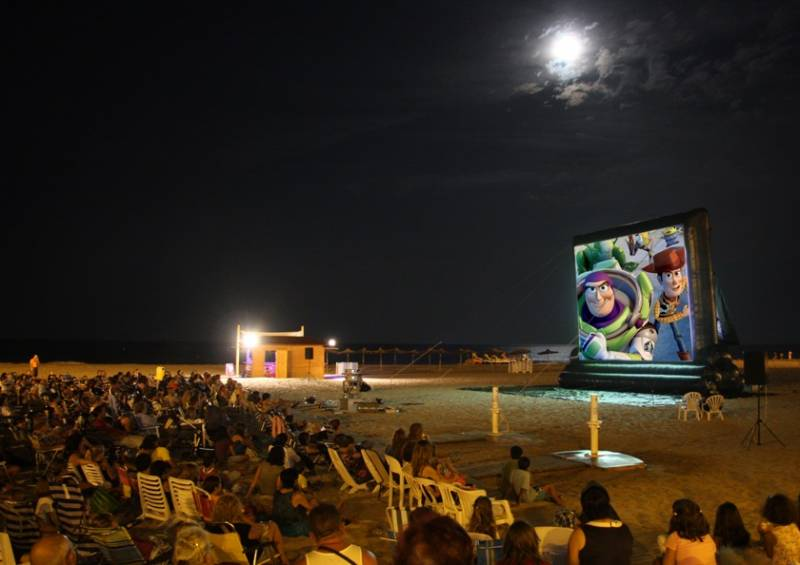 Cine en las playas 2018