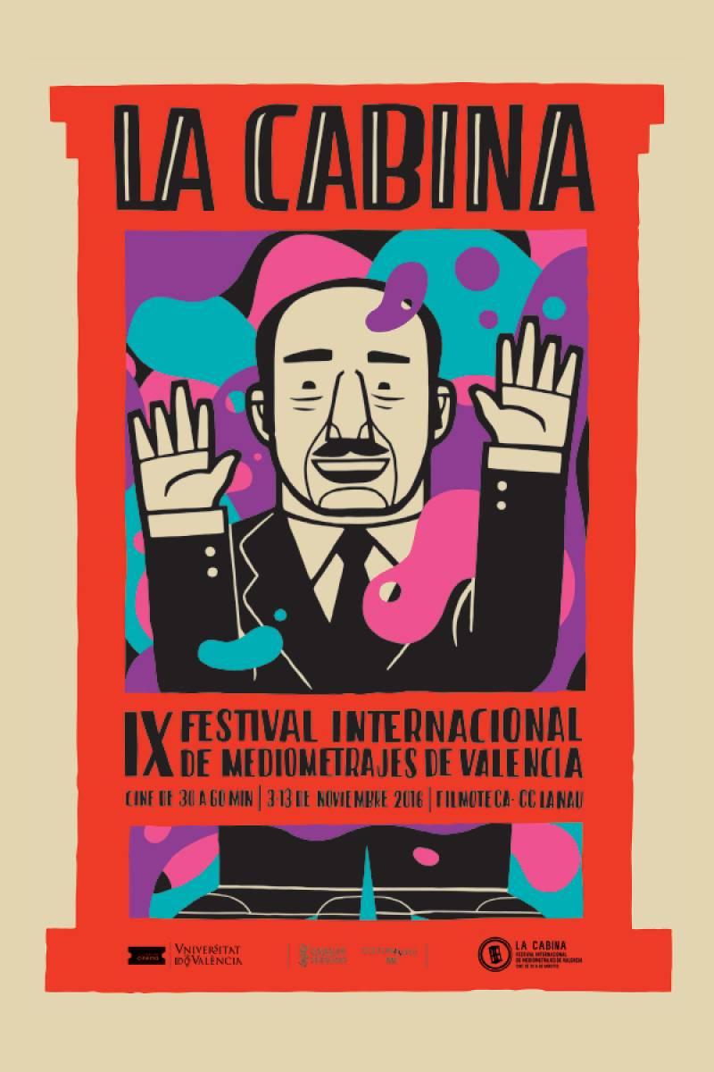 Cartel del Festival La Cabina
