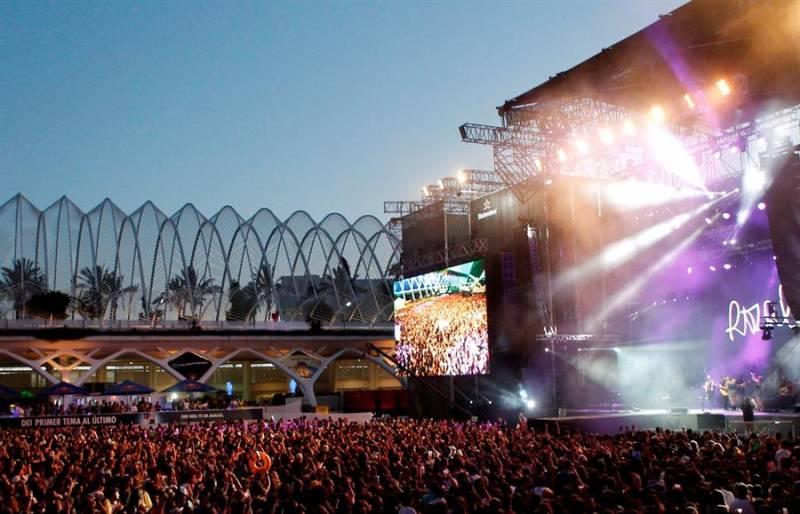 El festival de les arts en una imagen de archivo. EFE