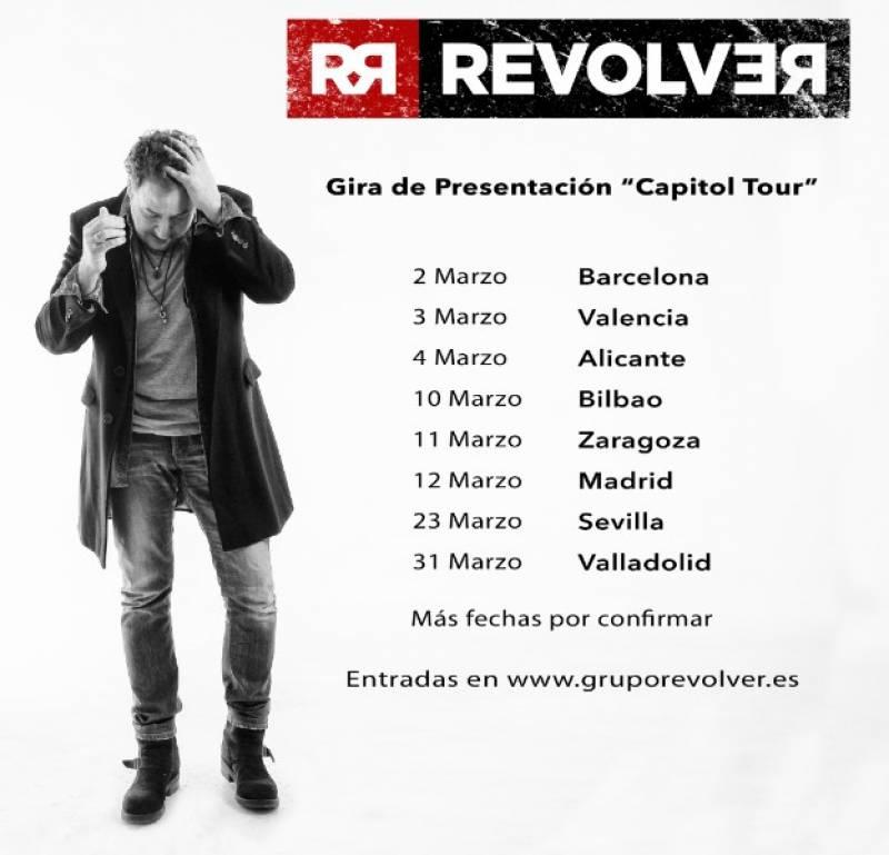Nuevo disco y gira de Revólver
