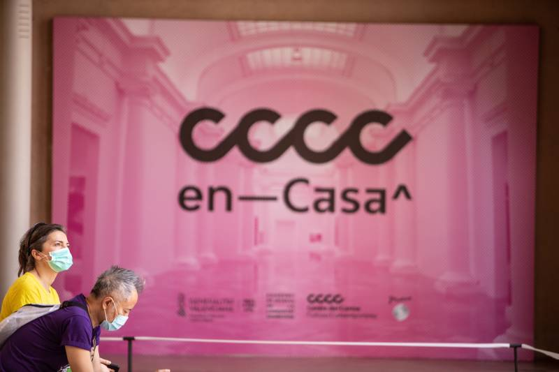 Cartel Programa Virtual CCCC. EPDA