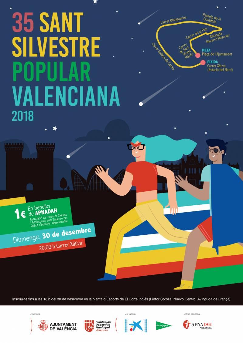 Cartel San Silvestre 2018