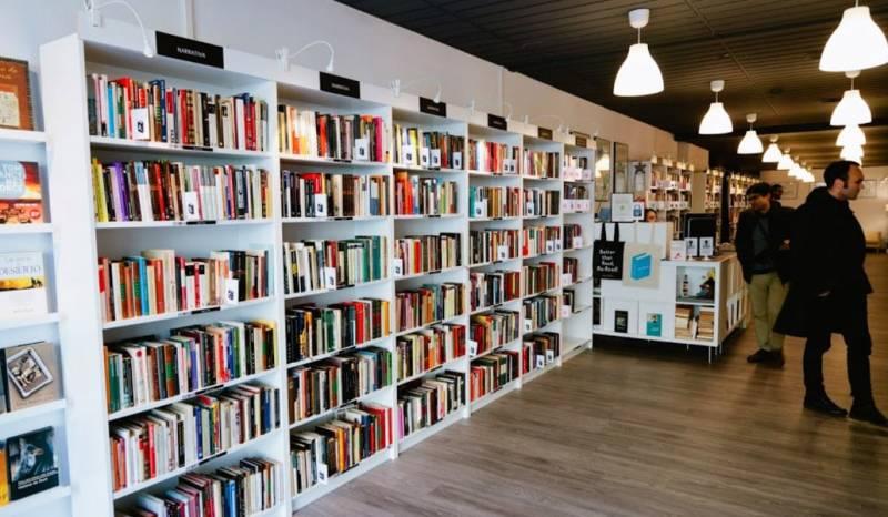 Imagen de archivo librería Valencia./ EPDA