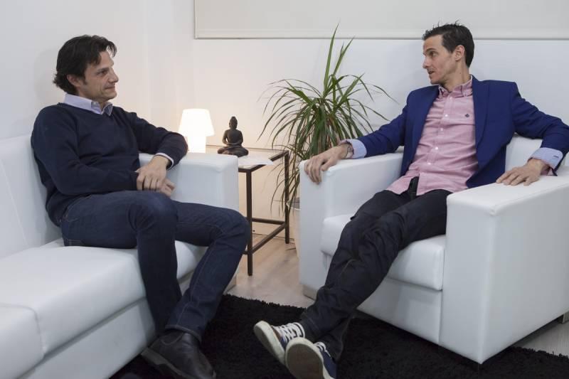 Lorenzo Serratosa e Iván García