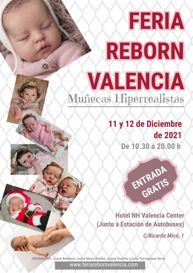 Cartel de Feria Reborn Valencia.