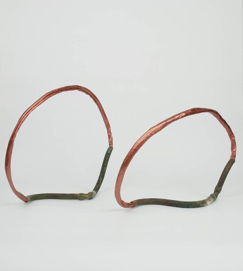 Copper loops, Silvia Lerin