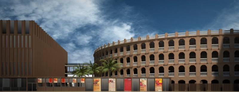 Plaza de toros de Valencia, proyecto