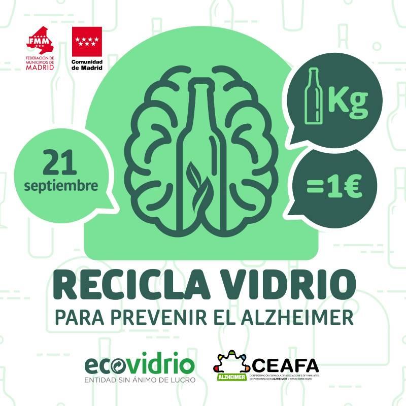 Campaña ecovidrio Alzheimer./ EPDA