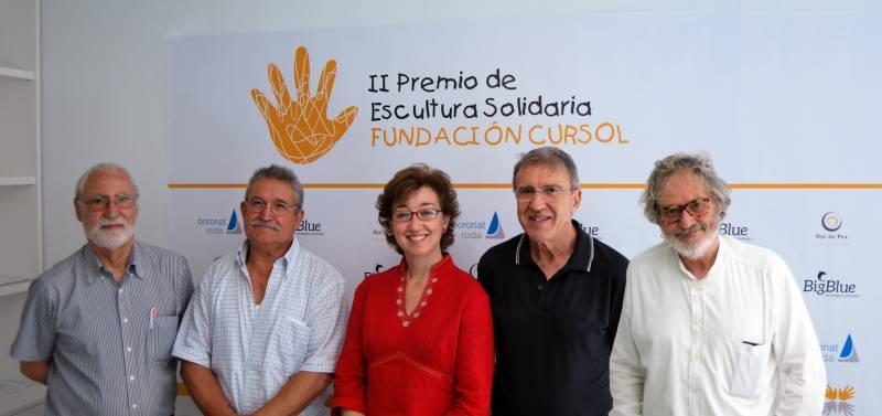 Jurado - Enric Mestre, Vicente Ortí, Marta Pérez, José Mª Yturralde y Miquel Navarro