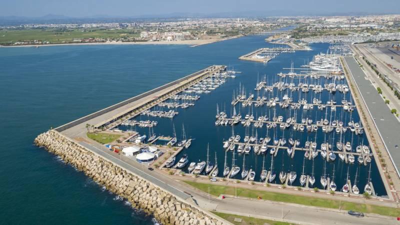 Imagen de archivo puerto de València./ EPDA