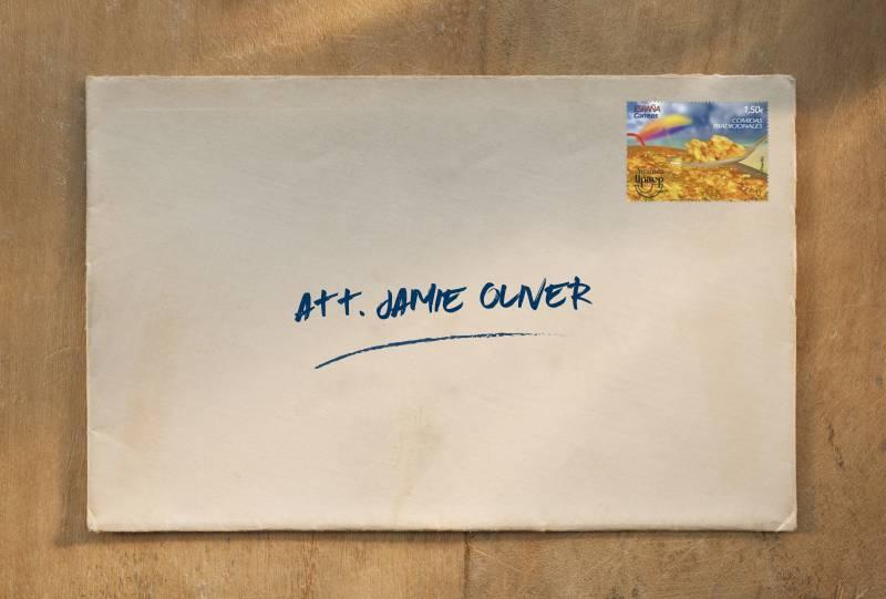 Carta Jamie Oliver