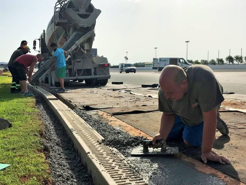 Trabajos de mantenimiento drenajes