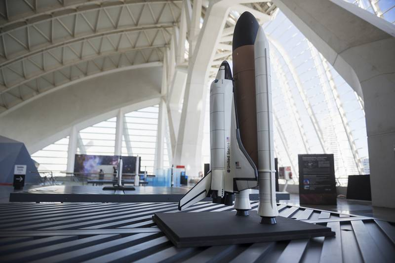 Marte maquetas cohetes