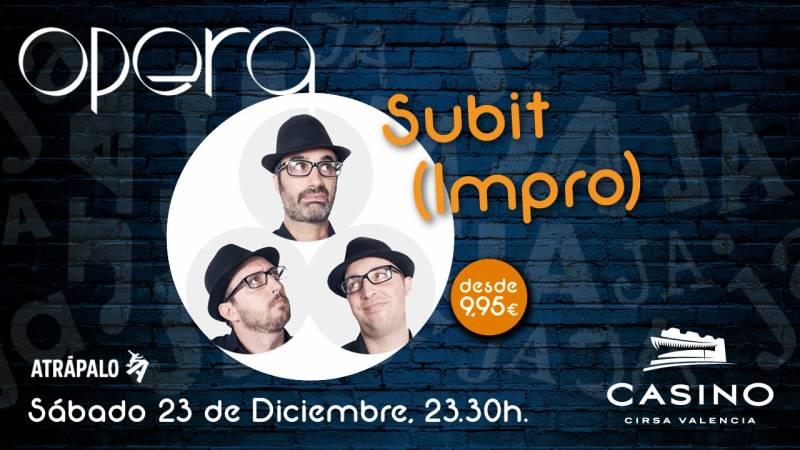 Subit (impro) Casino Cirsa Valencia