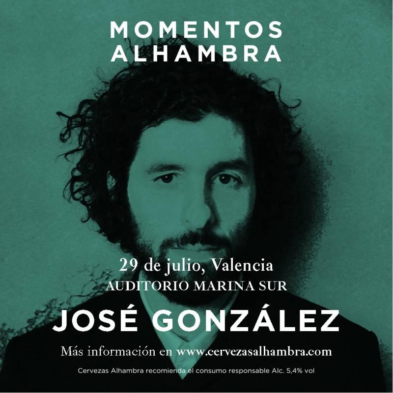 El cartel del ciclo Momentos Alhambra en València. EPDA