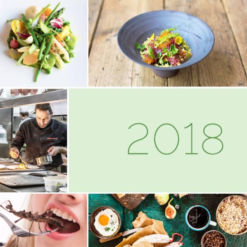 Tendencias gastronómicas 2018