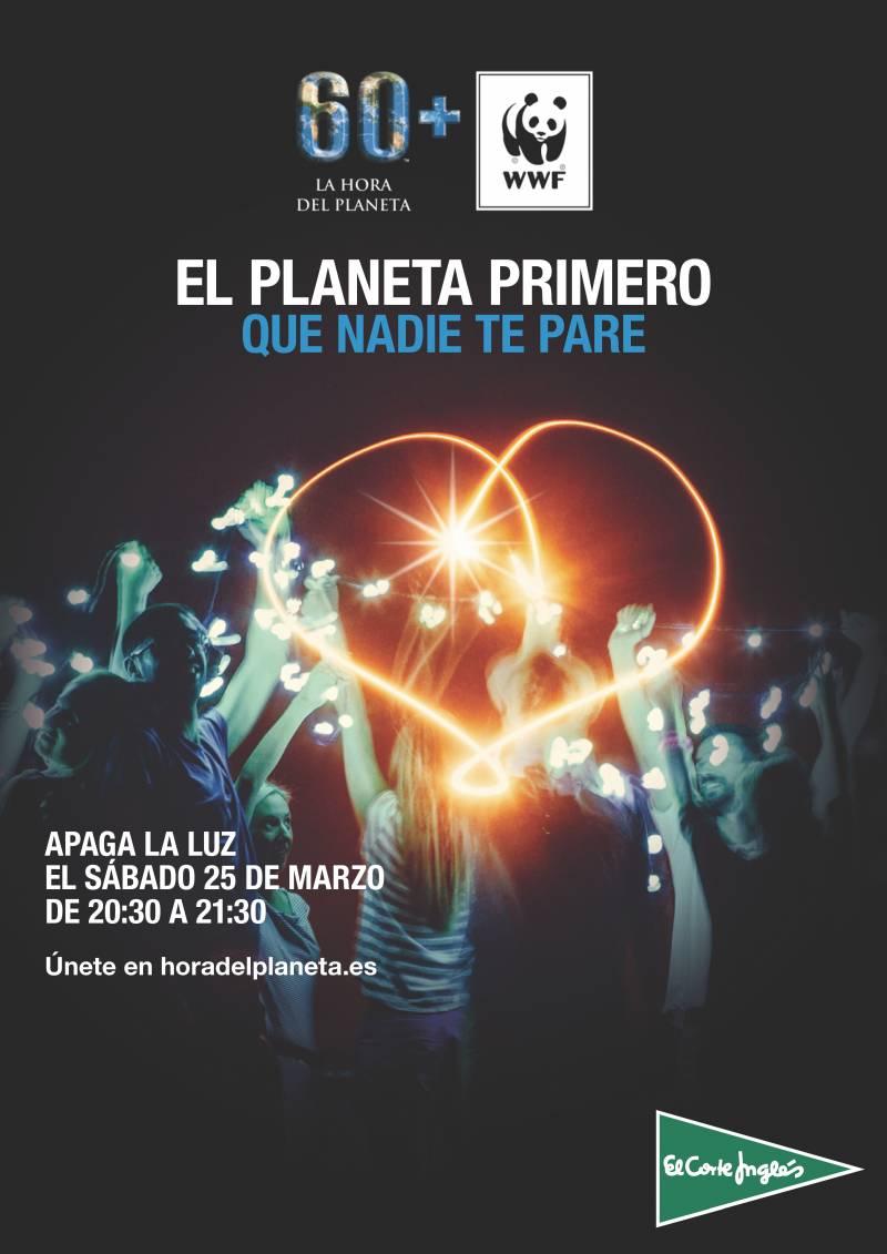 Cartel La Hora del Planeta