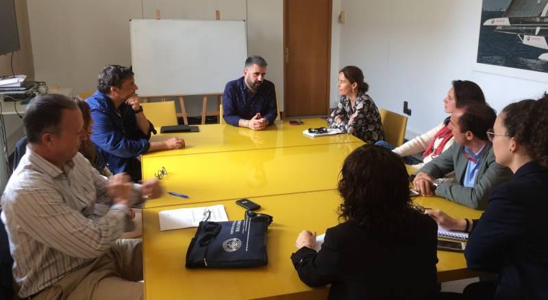 Fuset reunió amb empresaris oci i hosteleria de la Marina