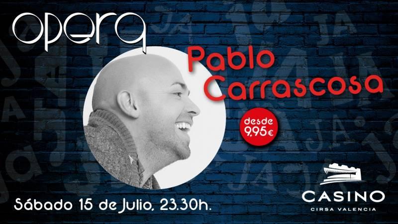Pablo Carrascosa Casino Cirsa Valencia