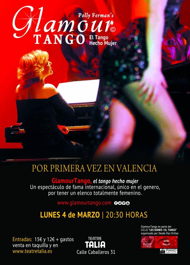 Cartel de Glamour Tango